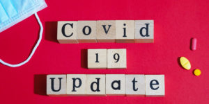 COVID-19 business updates for web social media
